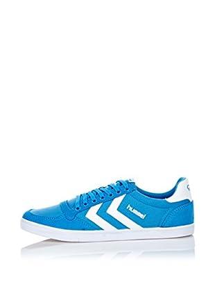 Hummel Sneaker Slimmer Stadil Low (blau)