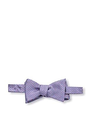 Bruno Piattelli Men's Woven Bow Tie, Red Blue