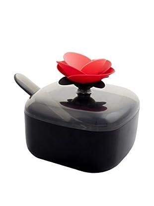 VIGAR Azucarero Rose Negro