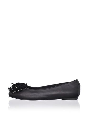 J. Loren Kid's Mary Dress Shoe (Black)