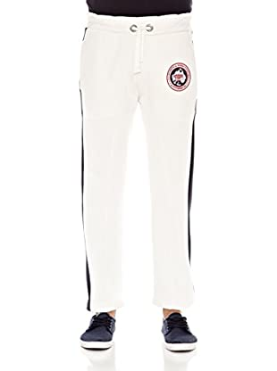 Geographical Norway Pantalón Media Men 100 (Blanco)