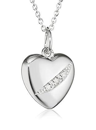 Hot Diamonds Set Kette und Anhänger Sterling-Silber 925