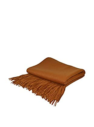 PÜR Cashmere Signature Blend Throw, Copper
