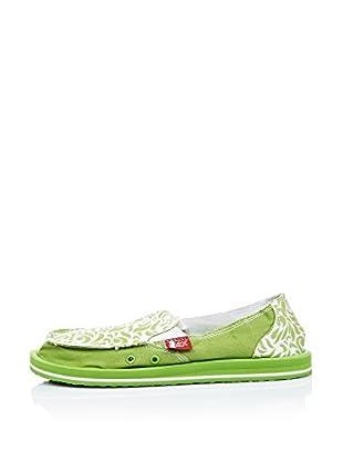 Wax Zapatillas Ecológicos (Verde ácido)