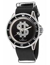 Toy Watch Black Dial Black Canvas Strap Watch Mens Watch D01Bk