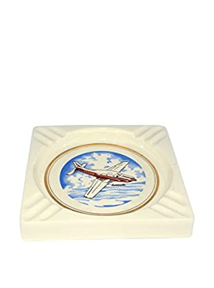 Uptown Down Previously Owned Square Comanche Porcelain Ashtray
