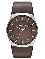 Skagen Analog Brown Dial Men's Watch - SKW6016