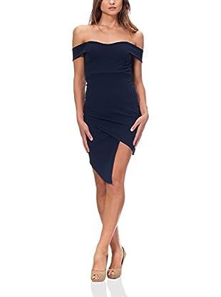 MILANO COUTURE Kleid dunkelblau S