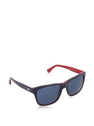 Emporio Armani Occhiali da sole 4041 534780 (56 mm) Blu/Rosso