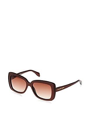 Alexander McQueen Gafas de Sol AMQ4218/S (56 mm) Chocolate