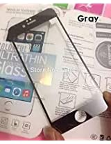 ssimpex® Electroplant Tempered Glass Front/Back Screen Protector For Iphone 6 (4.7)- Gray