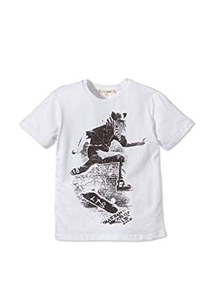 LTB Jeans T-Shirt Zebra (weiß)