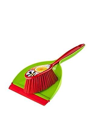 VIGAR Cepillo De Mano 2 Piezas Citric Rojo / Verde