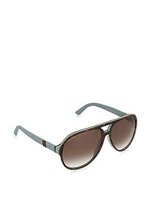 GUCCI Gafas de Sol 1065/ S CC H5I (59 mm) Havana / Azul
