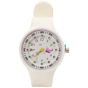 Titan - Zoop Kids Butterfly Print White Analog Watch