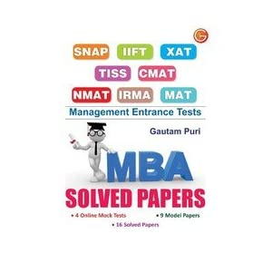 MBA Solved Paper (Old Edition) (OLD EDITION) (OLD EDITION)
