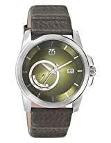 Titan Purple Analog Green Dial Men's Watch - 9465SL01
