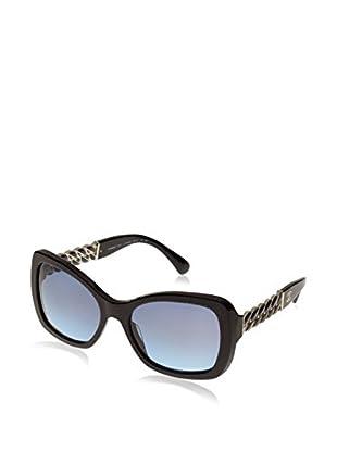 Chanel Gafas de Sol 53051409/S2 (56 mm) Azul Oscuro / Negro