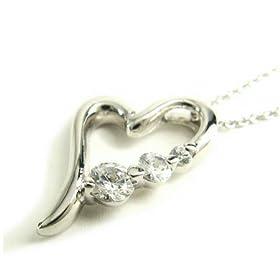 【クリックでお店のこの商品のページへ】(ジェスティック ハート) jestic heart 【10月の誕生花】シオン ハートネックレス P223