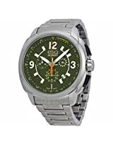 Esq Excel Chronograph Green Dial Stainless Steel Mens Watch 07301416