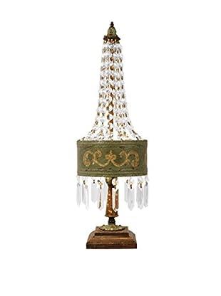 Artistic Lighting Table Lamp, Parisian Moss