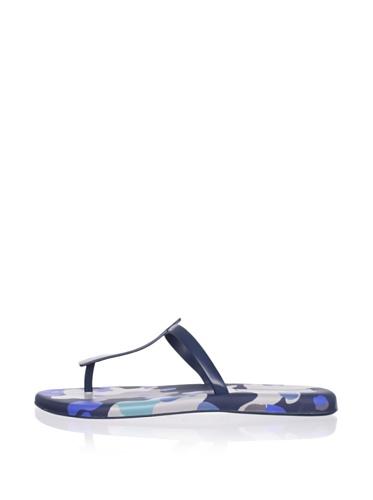 Melissa Women's Sin V Thong Sandal (Blue)