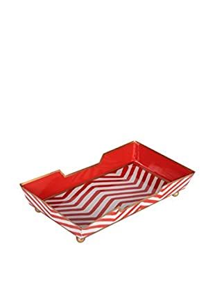 Jayes Kenya Guest Towel Tray, Red