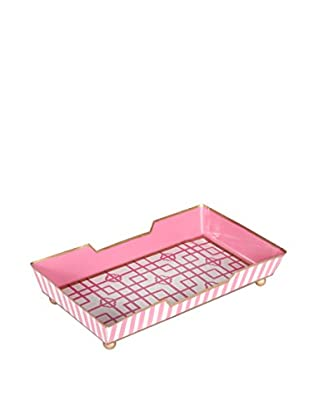 Jayes Isabelle Guest Towel Tray, Pink