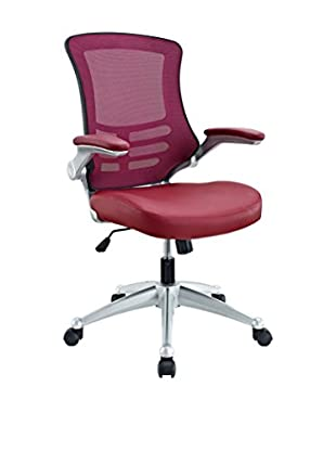 Modway Attainment Office Chair, Burgundy