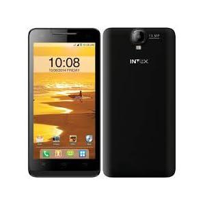 Intex Aqua Amaze Smart Phone, Black