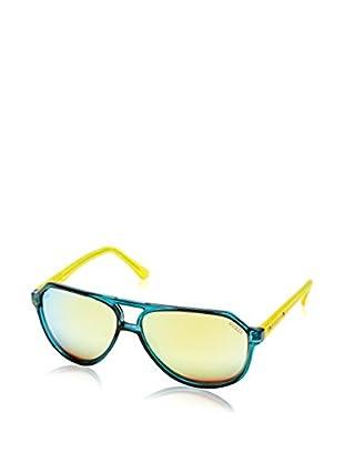 GUESS Sonnenbrille 7307 (61 mm) blau/gelb