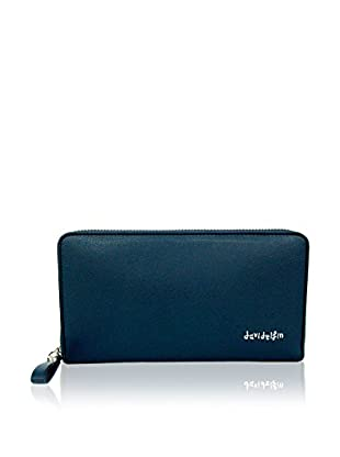 davidelfin Cartera Big Wallet Azul