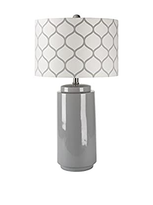 Surya Hadley 1-Light Table Lamp, Gray