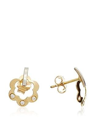 Gold & Diamonds Ohrringe Garden 18 Karat (750) Gelbgold