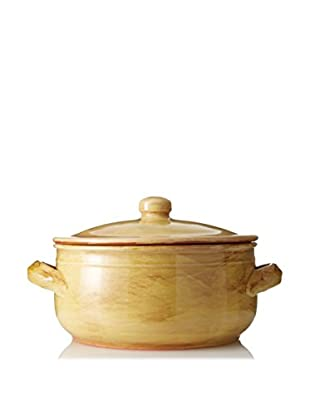 COLI Bakeware Rustic Handled Pot with Lid