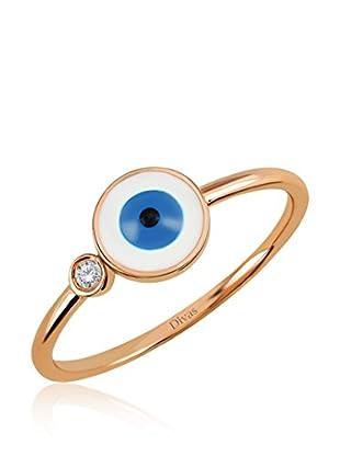 Divas Diamond Anillo Good Luck Eye (Oro)