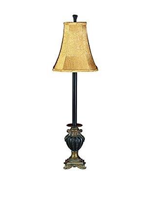Polystone & Metal Buffet Lamp
