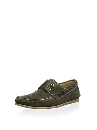 John Varvatos Men's Schooner Boat Shoe (Veridian)