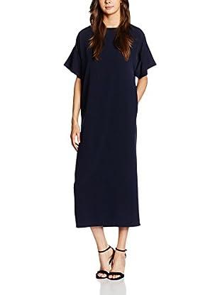 MAIOCCI Vestido  Azul Marino S