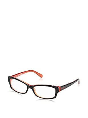 Just Cavalli Montura Jc0520 (54 mm) Negro / Naranja