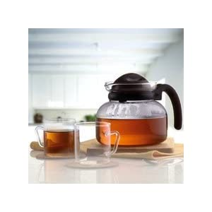 Borosil IH77TS11704 Tea Set Clear