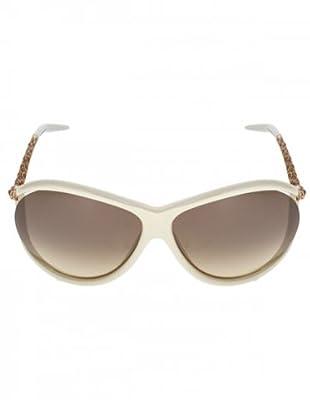 Roborto Cavalli Sonnenbrille Unisex 449/S 25G Metall/Acetat creme/braun