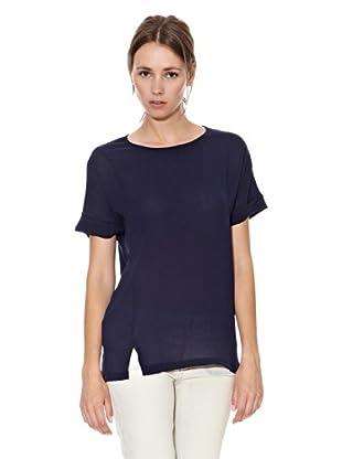 Mango Camiseta Iria (Azul Marino)