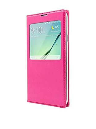 Unotec Funda Flip-S Samsung Galaxy S5 Rosa