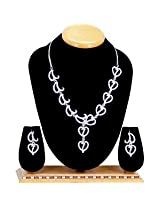 Austrian Diamond Necklace Set By Sanskruti
