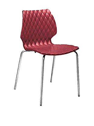 Metalmobil  Set Silla 2 Uds. Uni-550 Rojo / Metal