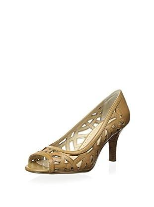 Adrienne Vittadini Footwear Women's Grandy Open Toe Pump