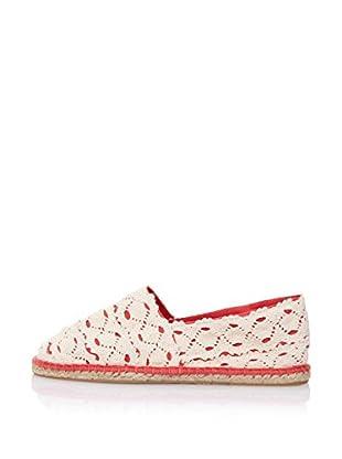LP Alpargatas Crochet (Coral)