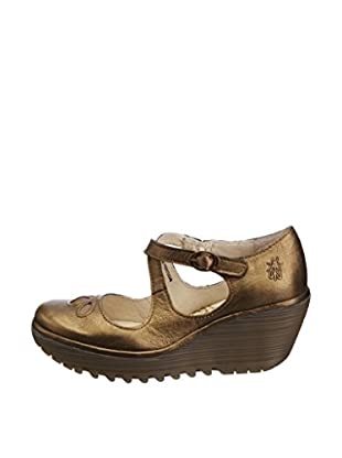 Fly London Zapatos Yate (Bronce)