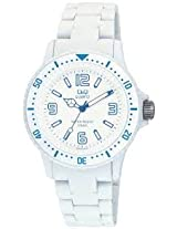 Q&Q Regular Analog White Dial Men's Watch - GW76J014Y